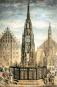 Nürnberg als romantische Stadt. Bild 2