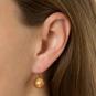 Ohrringe Muranoglas rot. Bild 2