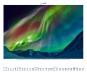 Polarlicht 2016. Aurora Borealis Himmlisches Leuchten Bild 2