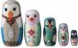 Puppe in der Puppe »Vögel«. Bild 2