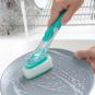 Reinigungsbürste mit Griff und Seifenspender. Bild 2