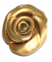 Rose-Anhänger - Silber, vergoldet Bild 2