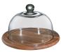 Runde Käseglocke mit Glasdeckel. Bild 2