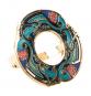 Schal Ring »Keltische Vögel«, türkis. Bild 2