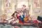 Schick und schrill. Modekarikaturen und Modezeichnungen aus drei Jahrhunderten. Bild 2