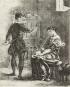 Shakespeares Hamlet illustriert von Eugène Delacroix. Bild 2
