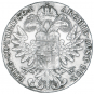 Silbermünze Maria Theresia. Bild 2