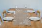 Tischläufer Leinen »Blättermotiv«, naturfarben. Bild 2