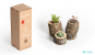 Vasen aus Baumstämmen. Bild 2