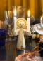 Vergoldeter Engel für Kerzen »Lucia«. Bild 2
