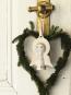 Vergoldeter Engel zum Aufhängen »Lucia«. Bild 2