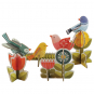 Vögel. Deko-Set zum Heraustrennen. Bild 2