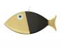 Wanddeko-Fisch aus Bronze, schwarz, Gr. XL. Bild 2