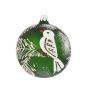 Weihnachtskugel »Weißer Vogel«. Bild 2