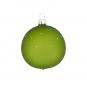 Weihnachtskugel »Winterlandschaft«, grün. Bild 2
