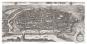 Wien 1609. Ansicht aus der Vogelperspektive von Jacob Hoefnagel. Bild 2