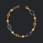 Armband »Vermeer« mit Halbedelsteinen. Bild 3