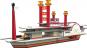 Bau dir ein Schiff, ein Flugzeug, einen Orient-Express und eine Lokomotive. 4er-Set. Bild 3