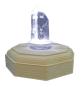 Bergkristall-Spitze mit Beleuchtung. Bild 3