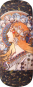 Brillenetui Alfons Mucha »Zodiac«. Bild 3