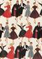 Geschenkpapier »Mode der 1950er-Jahre«. Bild 3