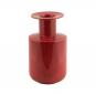 Große Vase mit Filzmanschette, rot. Bild 3