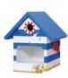 Holzbau-Set Vogelhaus. Bild 3