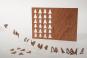 Holzpostkarten »Adventskalender«. Bild 3