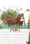 Janoschs kunterbunter Wandkalender 2021. Bild 3