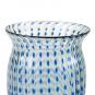 Kleine Vase mit blauen Punkten. Bild 3