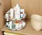 Küchen-Karussell aus Edelstahl, 2 Ebenen. Bild 3