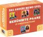 Memo-Spiel. 25 Berühmte Paare. Bild 3