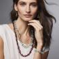 MET Halskette »Glitzerperlen«, mintfarben. Bild 3
