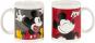Mickey Mouse Kaffeebecher. 2 Motivtassen im Set. Bild 3