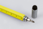 Multifunktionaler Kugelschreiber. Gelb. Bild 3