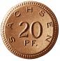 Porzellan-Münzsatz 1920/1921 - Notgeldmünzen des Freistaats Sachsen Bild 3
