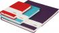 Sam's Notizbuch, medium, lila & liniert. Bild 3