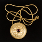 Scheibenfibel vom Sonnenbühl als Anhänger, Eisenzeit, um 400 v. Chr. Bild 3
