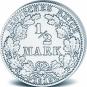 Silber-Münz-Set Deutsches Kaiserreich. Bild 3