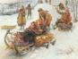 Sowjetische Impressionistische Malerei. Soviet Impressionist Painting. Bild 3