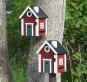 Vogelhäuschen »Schwedenkate«, rot. Bild 3