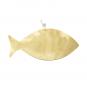Wanddeko-Fisch aus Bronze, blau, Gr. L. Bild 3