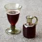 Weinglas mit Beerennodus. Bild 3