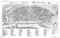 Wien 1609. Ansicht aus der Vogelperspektive von Jacob Hoefnagel. Bild 3