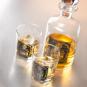Whisky-Set mit Karaffe und 2 Gläsern. Bild 3
