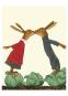 Wolf Erlbruchs Postkartenedition Küssen. Bild 3