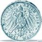 3er-Silbersatz Kaiser Wilhelm II. - 2, 3 und 5 Reichsmark Kaiser Wilhelm II. Bild 4