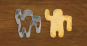 4 Ausstecher für Tassenkekse. Bild 4