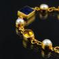 Armband »Vermeer« mit Halbedelsteinen. Bild 4