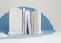 Modell-Replik und Buchstütze »Flatiron Building«. Bild 4